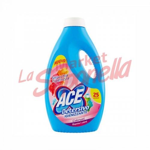 Detergent lichid igienizant rufe colorate Ace -1375 ml -25spalari